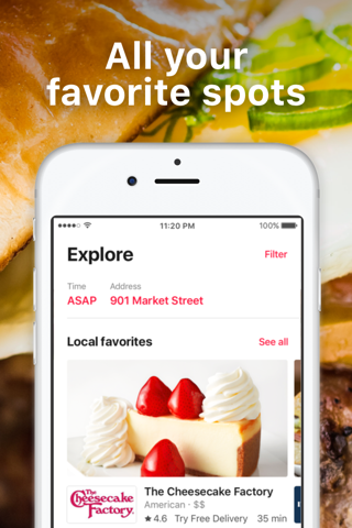 DoorDash - Food Delivery screenshot 2