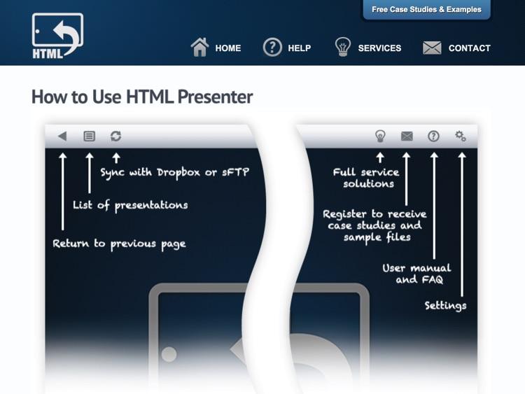 HTML Presenter Pro screenshot-4