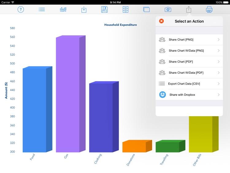 Chart Maker LT screenshot-3
