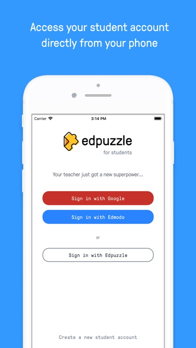 Screenshot for Edpuzzle in United States App Store