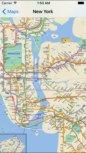 Ny 2017 Subway Map.Allsubway