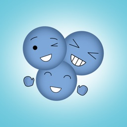 Animated Blue Emojis