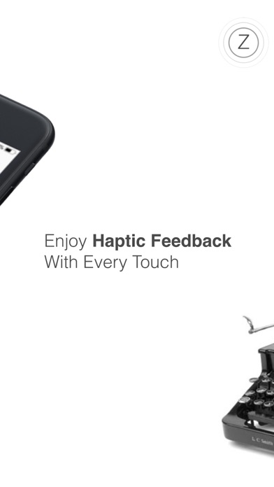 Haptic Keyboard: ENZO Screenshots