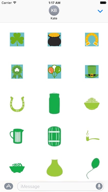 St Patricks Day Sticker Pack