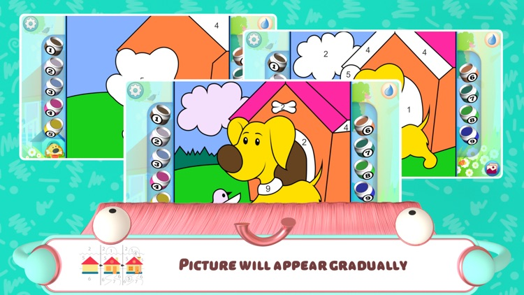 Color by Numbers - Dogs + screenshot-4