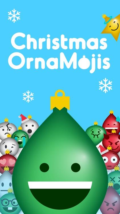 Christmas OrnaMojis