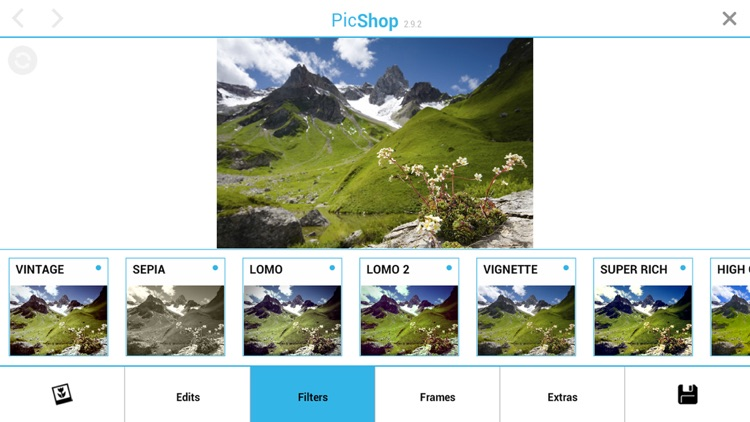 PicShop HD - Photo Editor screenshot-0