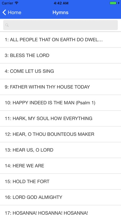 The Catholic Hymnal screenshot-2