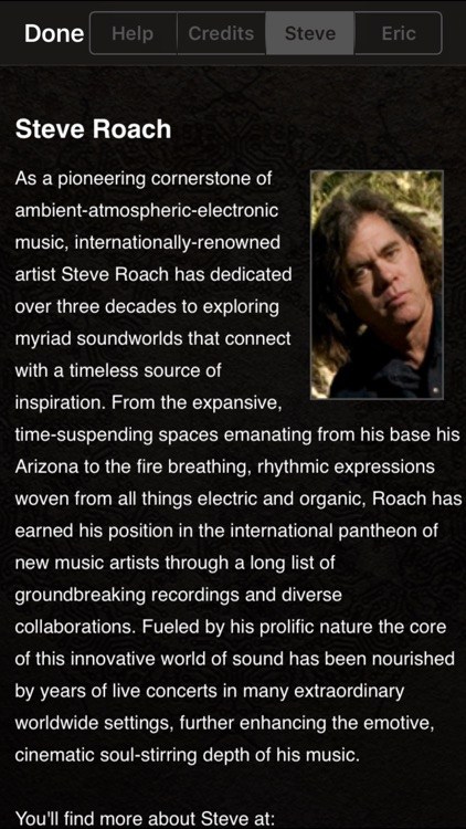 Steve Roach Immersion I screenshot-3