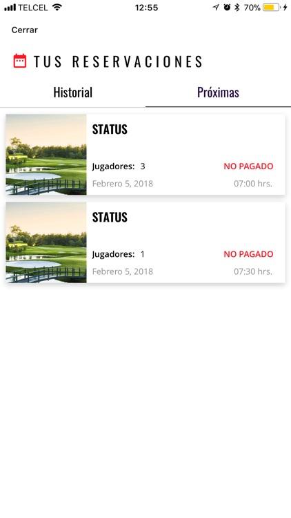 Status Golf Club screenshot-3