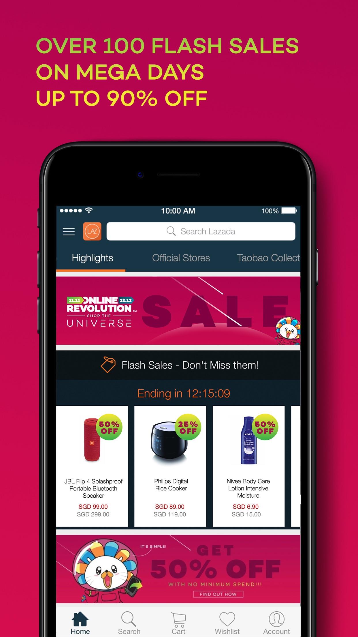 Lazada - #1 Online Shopping Screenshot