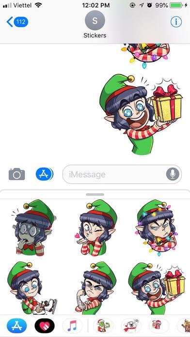 Christmas Santa Funny Sticker screenshot 2