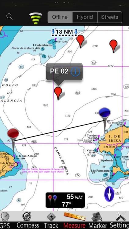 Catalonia GPS Nautical Charts screenshot-3
