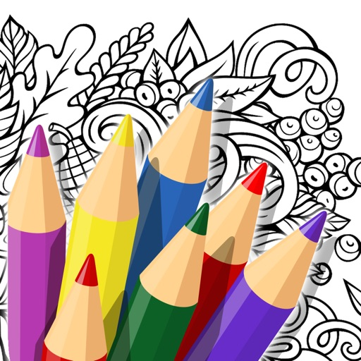 Doodle Color: Coloring Book