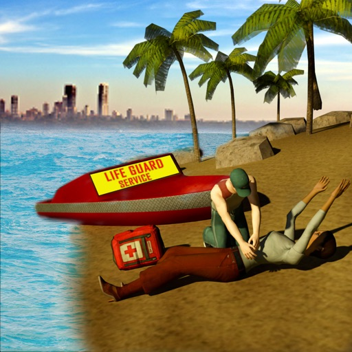 Summer Coast Guard 3D: Jet Ski Rescue Simulator application logo