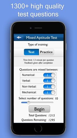 Aptitude Test Trainer