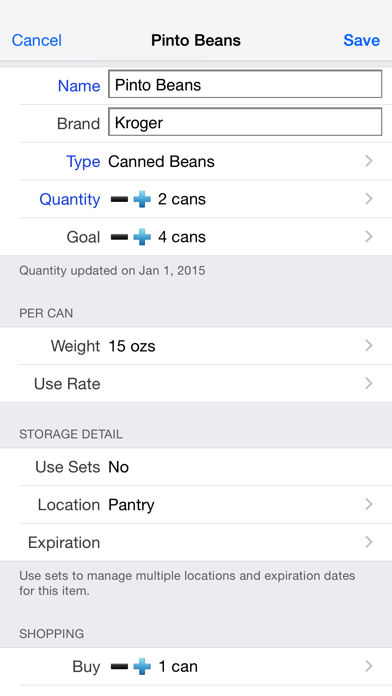 Home Food Storage review screenshots