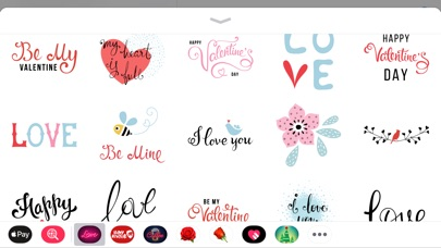 Screenshot for Best Romantic Love Sticker App in Saudi Arabia App Store