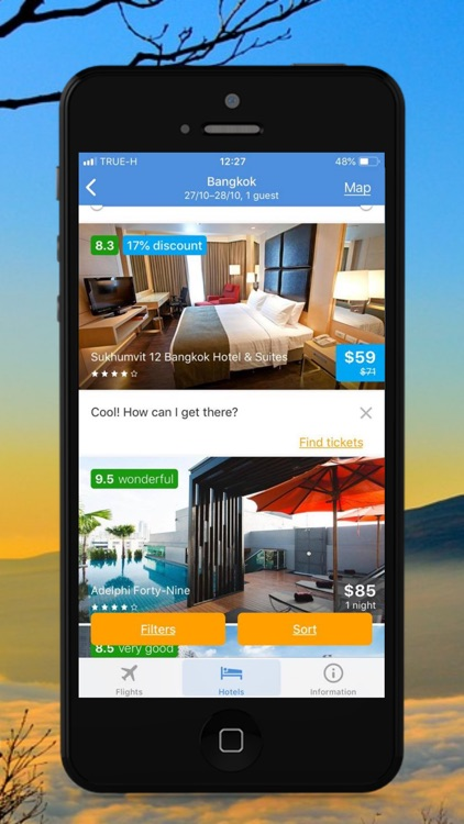 Cheap Flights & Hotels Compare screenshot-6