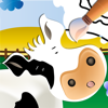 Farm Animals: Learn and Colour