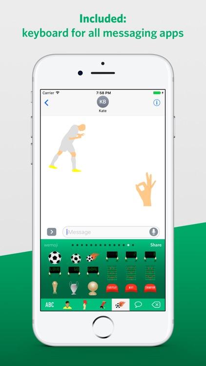 Football Legends Emoji screenshot-3