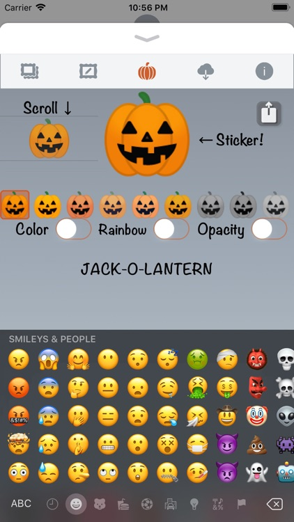 Happy Halloween • Stickers screenshot-8