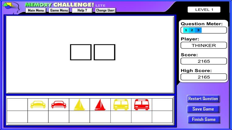 Memory Challenge! (Lite) screenshot-4