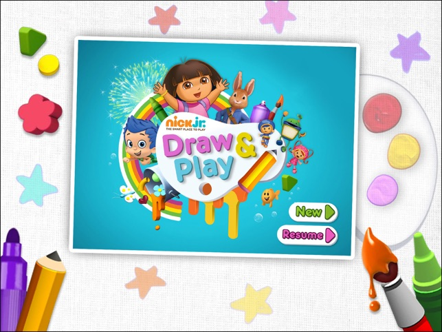 Nick Jr Draw & Play HD on the App Store