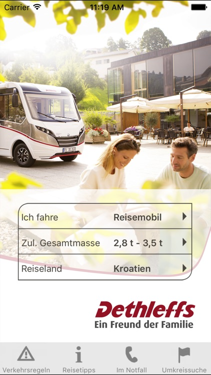 Dethleffs Reiseinfo by TANNER AG