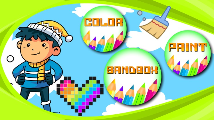 Sandbox Color By Numbers