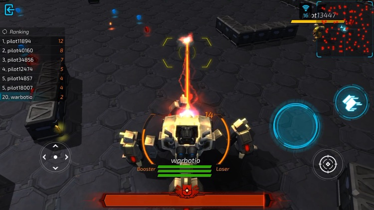warbot.io screenshot-1