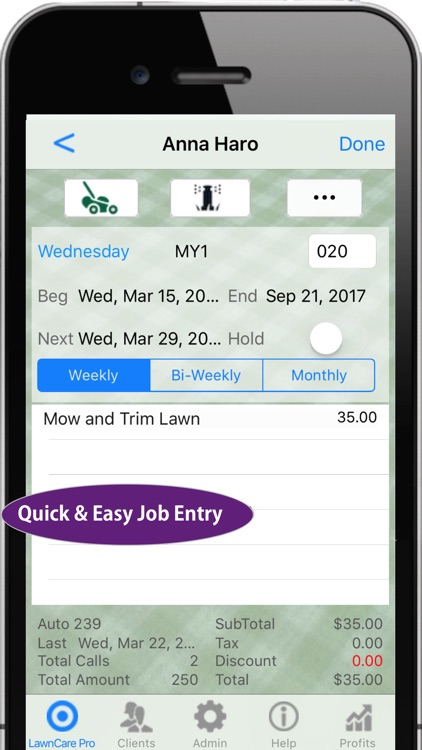 Lawn Care Pro Invoicing & More screenshot-3