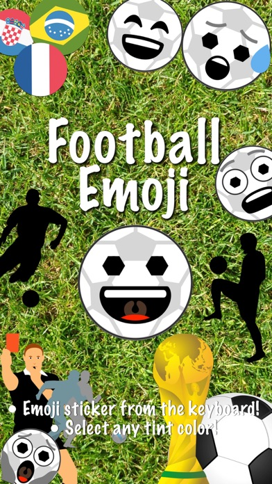 Football Emoji • Stickers screenshot 1