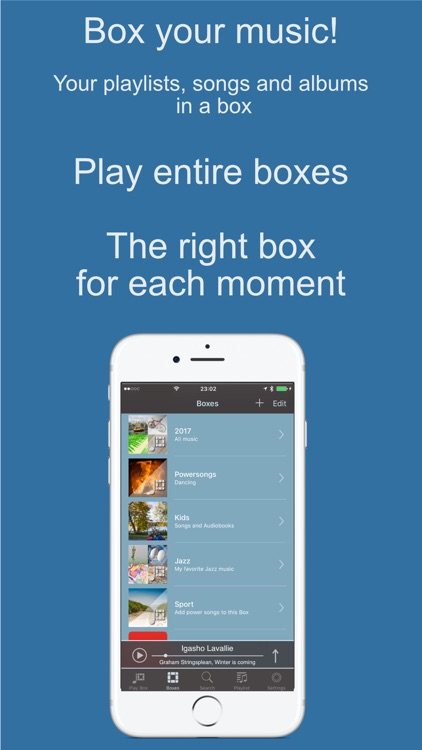 Albums! - Box your Music