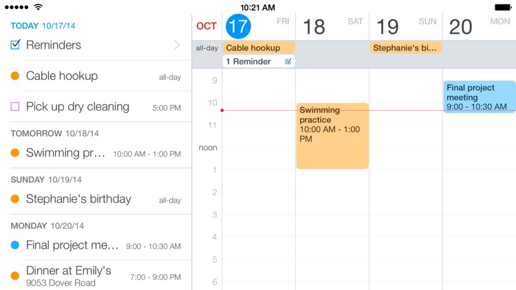 Fantastical 2 for iPhone - Calendar and Reminders screenshot-4