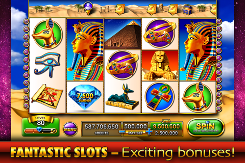 Screenshot of Slots - Pharaoh s Fire