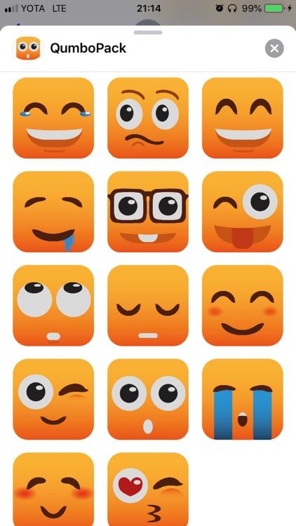 Qumbo Stikers