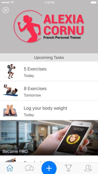 Alexia Cornu Personal Trainer Screenshot on iOS