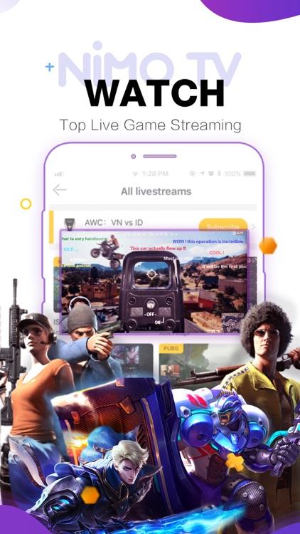 Nimo TV-Play. Live. Share. screenshot-8