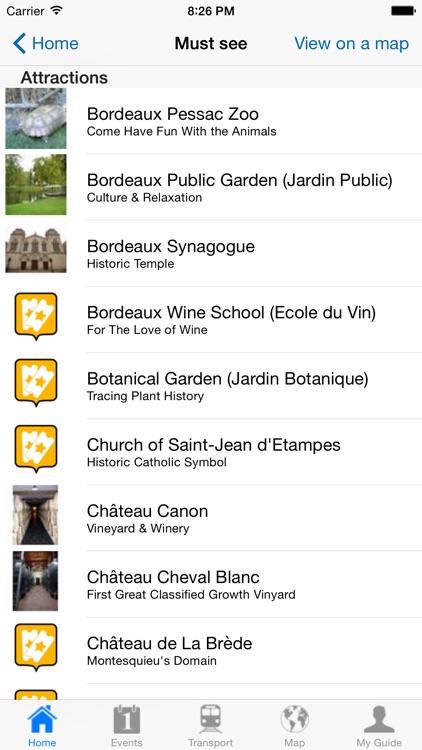 Bordeaux Travel Guide Offline screenshot-3