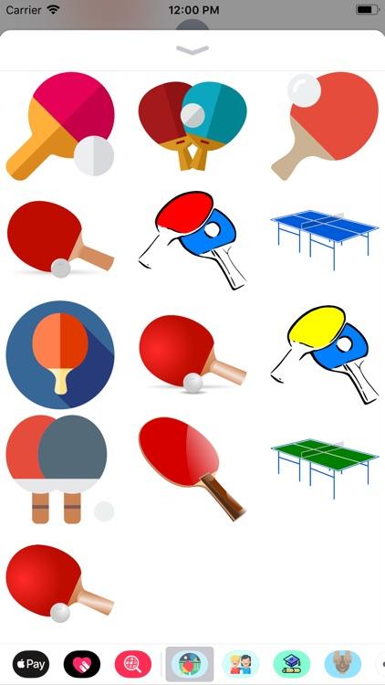Ping Pong Sticker Pack Fun screenshot-3