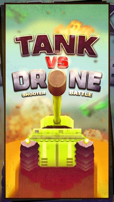 Tank vs Drone Shooter Battle