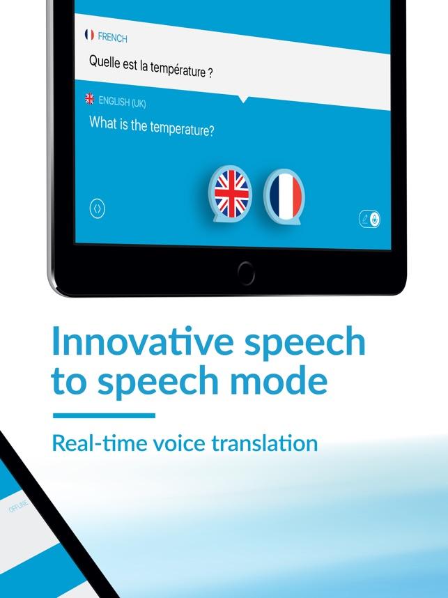 Speak Translate Translator On The App Store