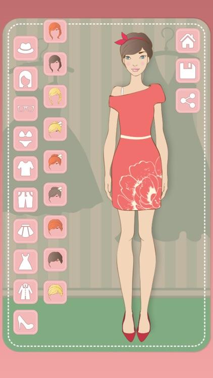 Dress up dolls & girls screenshot-4