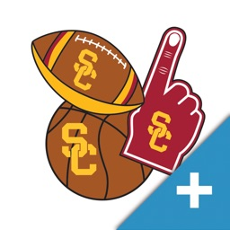 USC Trojans PLUS Selfie Stickers