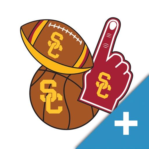 USC Trojans PLUS Selfie Stickers