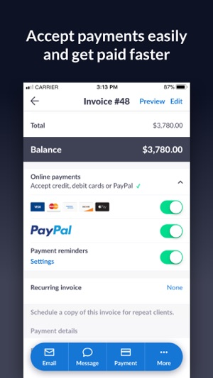 Invoice Go Invoice Estimate On The App Store - Invoice2go software