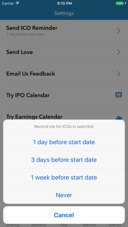 ICO Calendar screenshot-4
