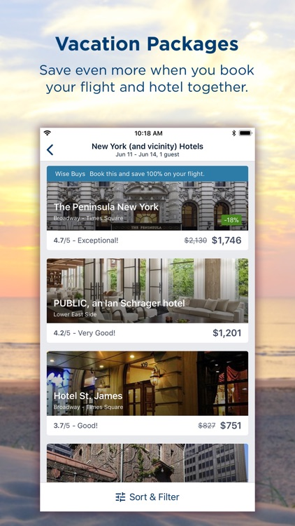 Travelocity Hotels & Flights screenshot-4