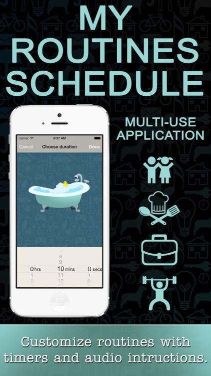 My Routine Schedule - A Child's Visual Task Timer screenshot-4